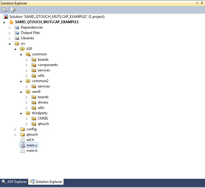 Atmel Software Framework (ASF): как это работает? - 2