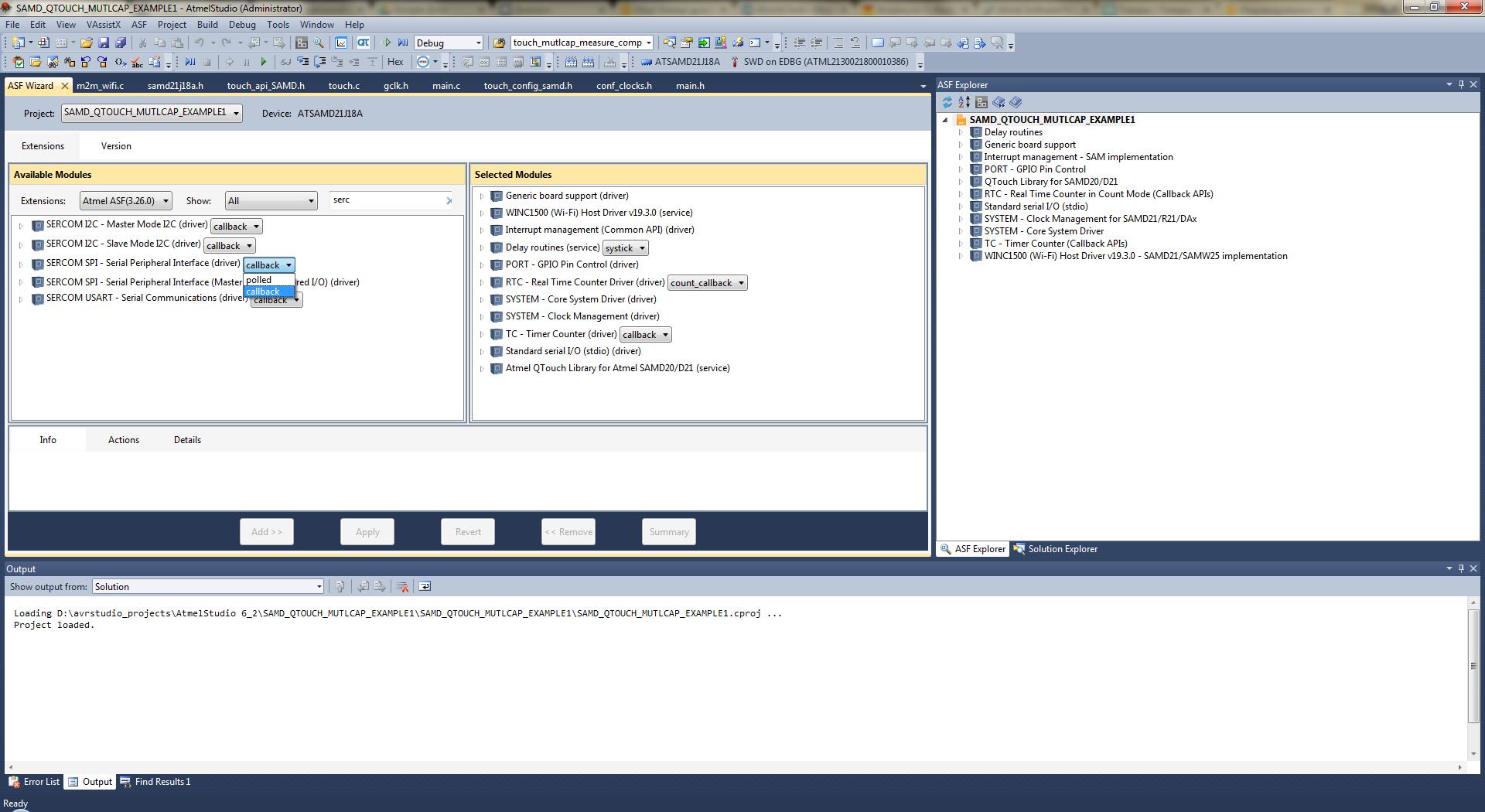 Atmel Software Framework (ASF): как это работает? - 6