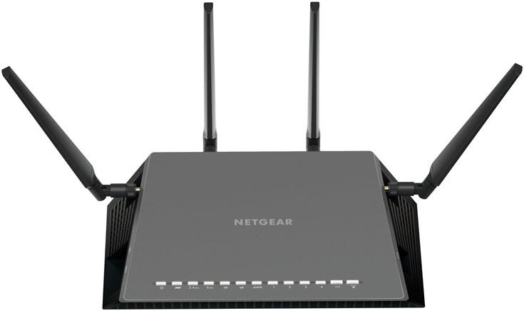 Netgear Nighthawk X4S AC2600 WiFi VDSL/ADSL Modem Router (D7800)