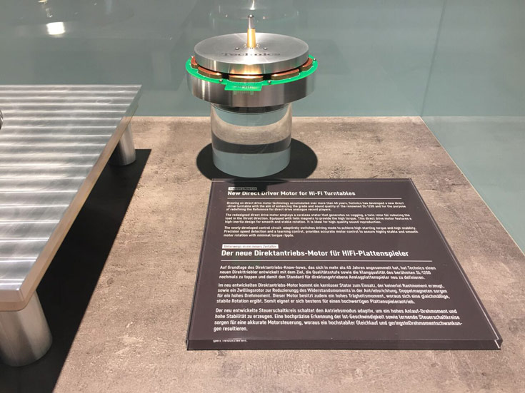 На IFA 2015 показан прототип, подобный легендарной модели Technics Direct Drive