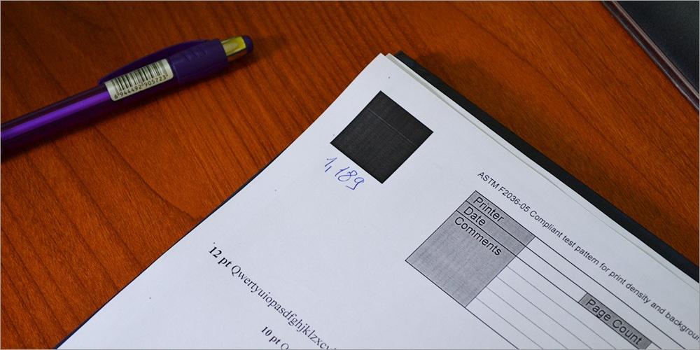 STMC-тестирование. Как достичь гарантированного качества отпечатков по оптимальной цене - 12