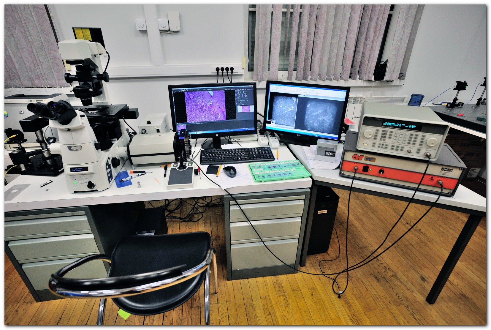«Диагностировать рак поможет лазер», или Как устроен лазерный флуоресцентный гиперспектральный микроскоп - 1