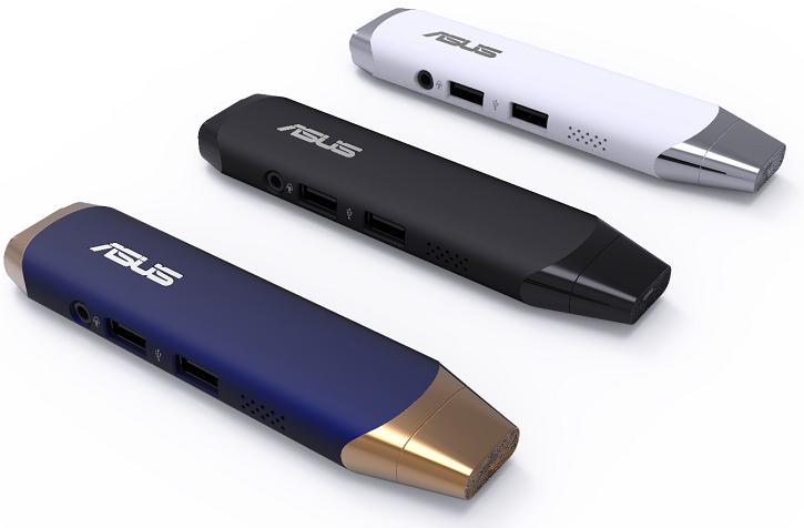 В мини-ПК Asus VivoStick PC используется компоновка eMCP для ОЗУ и флэш-памяти