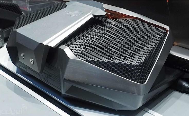 Ноутбук Asus ROG GX700 получил ЖСО