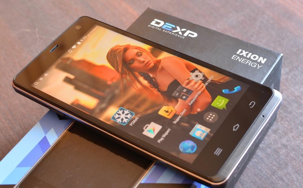 Обзор DEXP Ixion Energy: флагманский смартфон с рекордной батареей на 5 000 мАч и функцией Power Bank'а - 1
