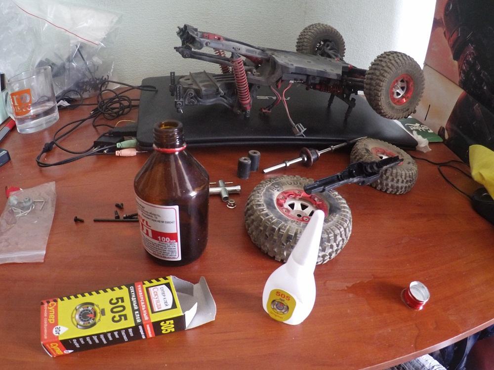 Тест-драйв радиоуправляемой автомодели Feiyue-01 - 25