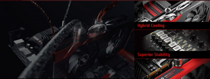 Представлена видеокарта Asus ROG Poseidon GeForce GTX 980 Ti Platinum