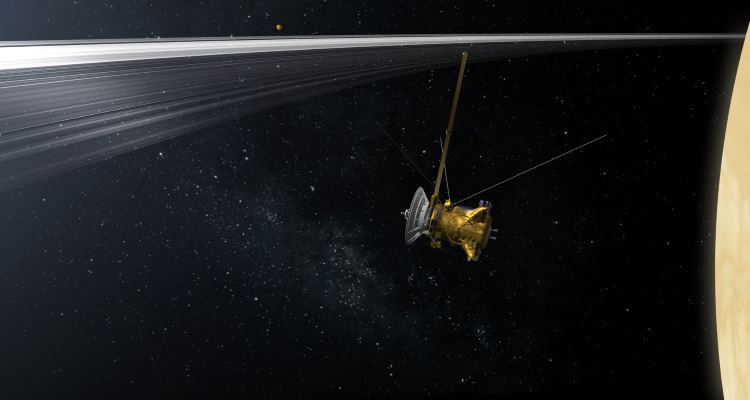 Cassini обнаружил кольцо Сатурна, состоящее из осколков бывшего спутника газового гиганта - 1