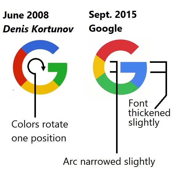 Новый логотип Google основан на эскизе российского дизайнера - 2