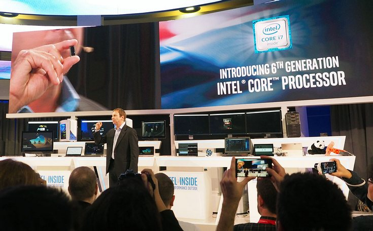 Intel рассматривает возможность использования CPU Core M поколения Skylake в планшетофонах