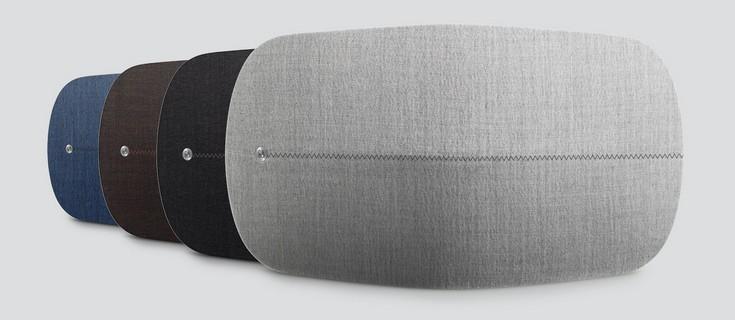 Акустическая система Bang & Olufsen BeoPlay A6 обшита тканью ателье Kvadrat