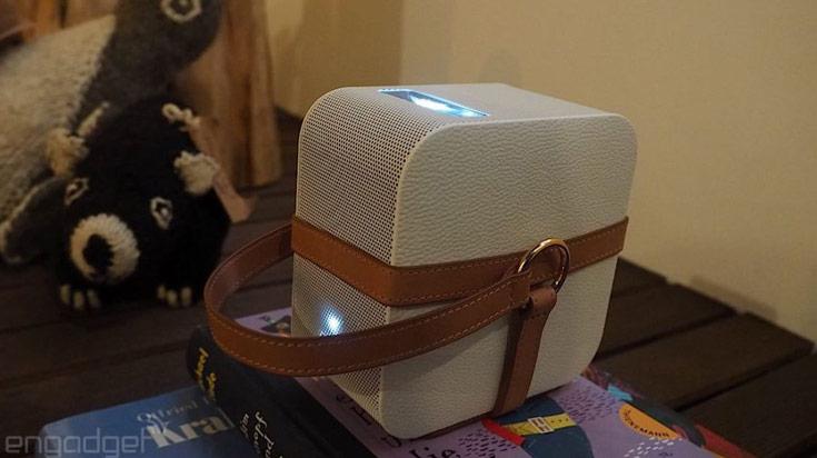 На IFA 2015 Sony показала мобильную акустическую систему в светильнике и портативный проектор - 3