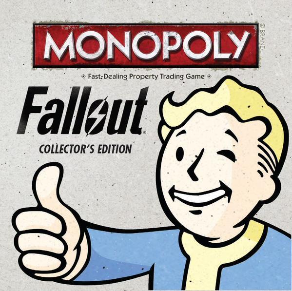Выпуск «Монополии» подготовят по мотивам Fallout - 1