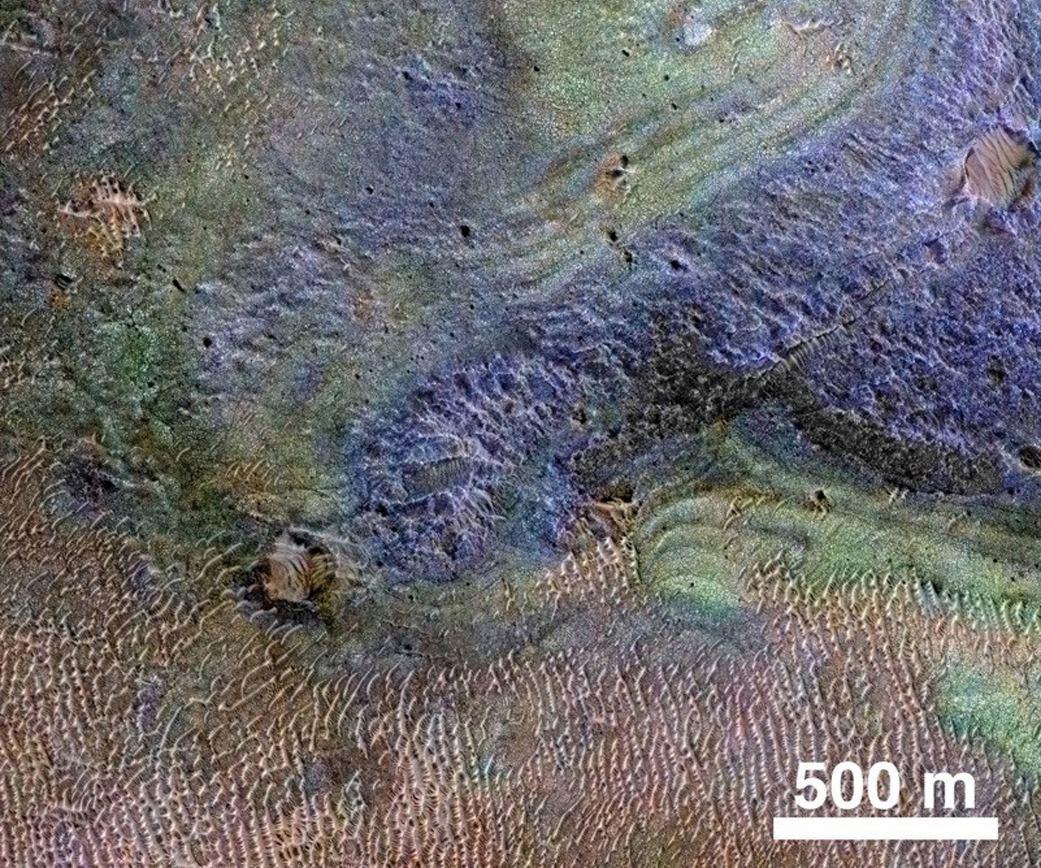 Марс вряд ли был теплым и влажным — результаты исследования NASA - 1