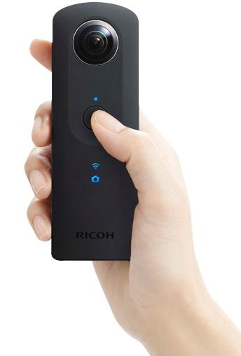 От своей предшественницы Ricoh Theta S отличается, в частности, увеличенными датчиками изображения