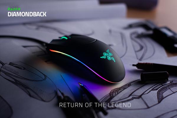 Razer обновила мышки Diamondback и Orochi