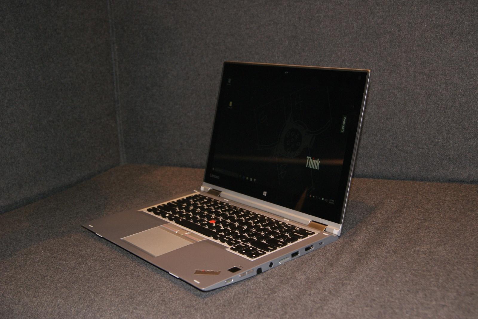 Эксклюзивные фотографии серебристого ThinkPad Yoga 260 - 3