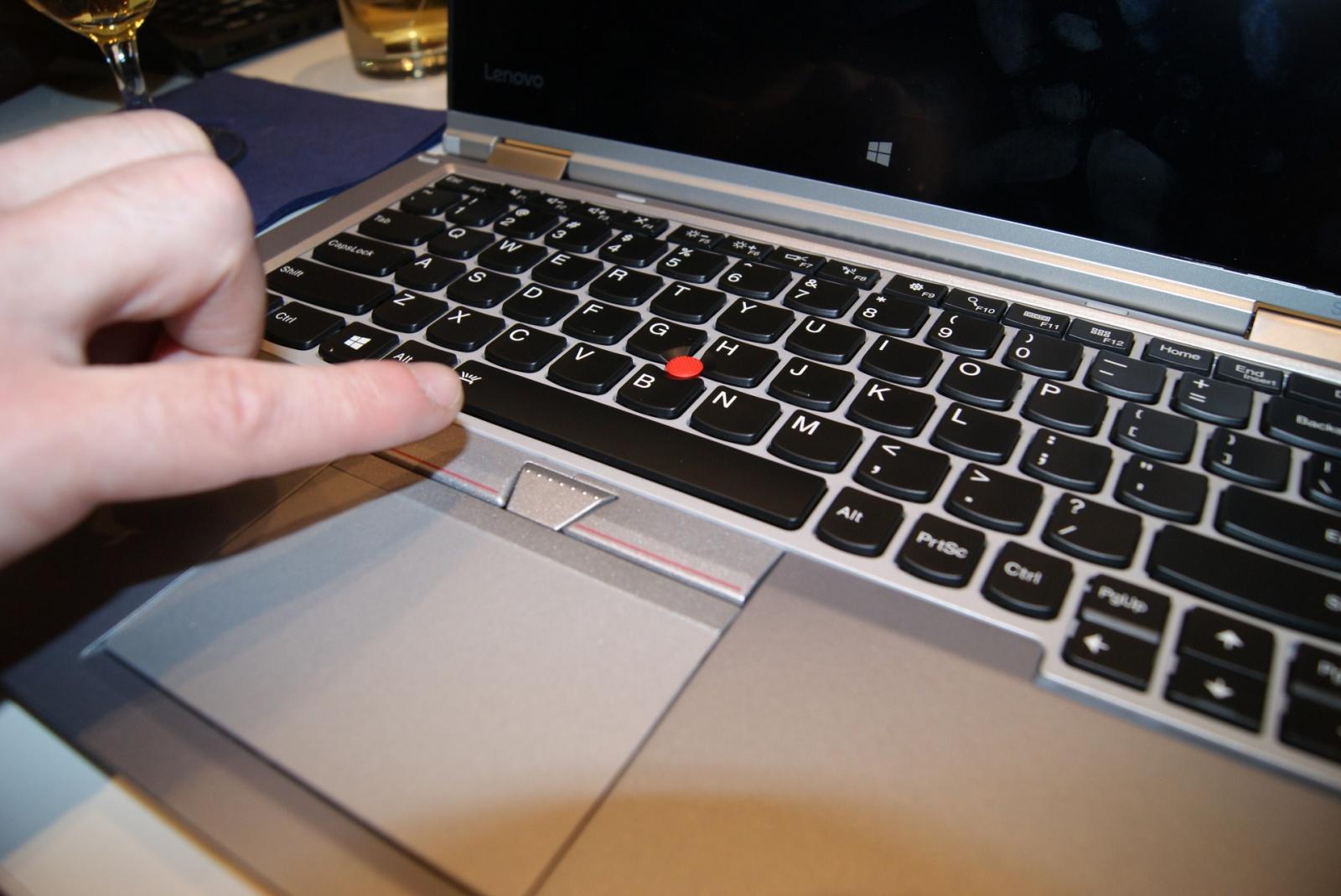 Эксклюзивные фотографии серебристого ThinkPad Yoga 260 - 8
