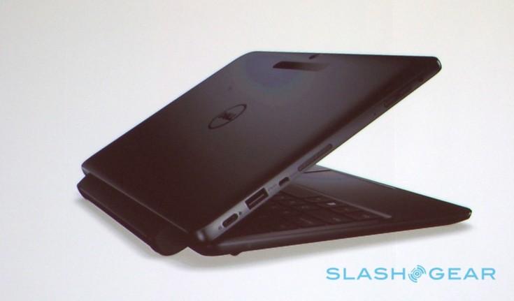 Планшет Dell Latitude 11 5000 можно будет подключить к клавиатуре