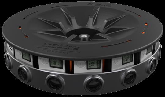 Система GoPro Odyssey оценена в 15 000 долларов