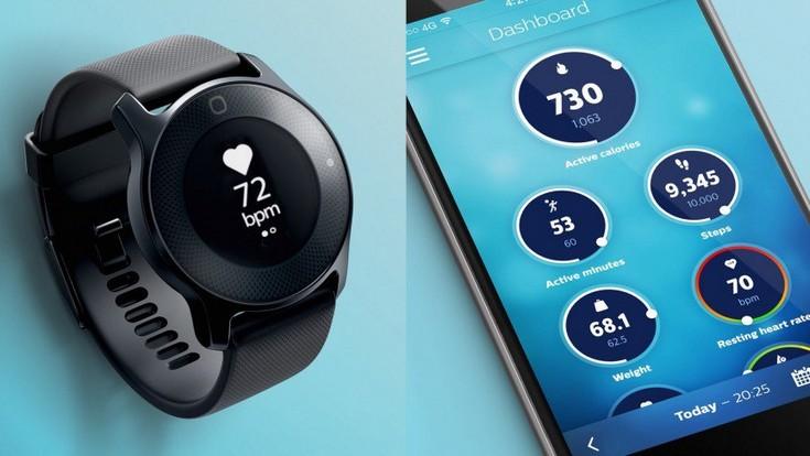 Умные часы Philips будут собирать данные для ПО HealthSuite