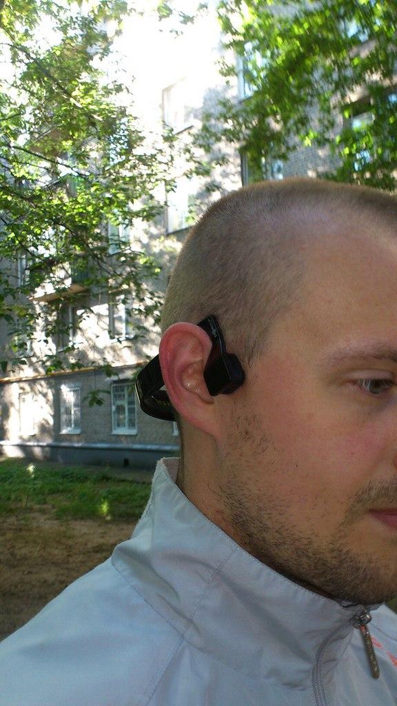 Sound Around беспроводные наушники с технологией костной проводимости - 6