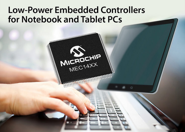 Контроллеры Microchip MEC14XX поддерживают интерфейсы eSPI и LPC