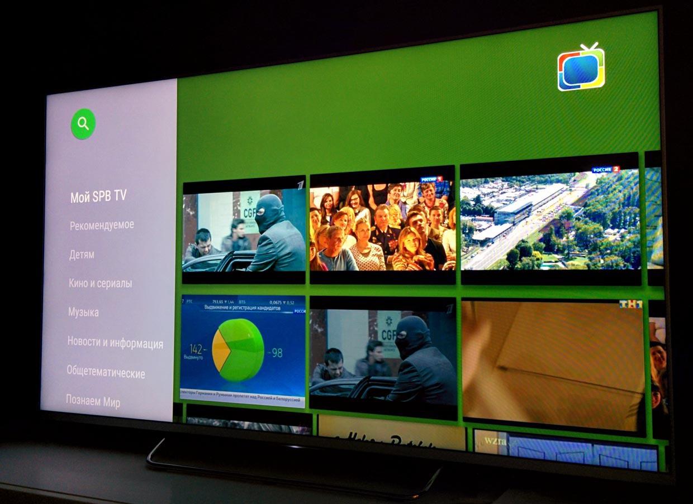 Обзор true Android TV на примере Sony 55w807c - 13