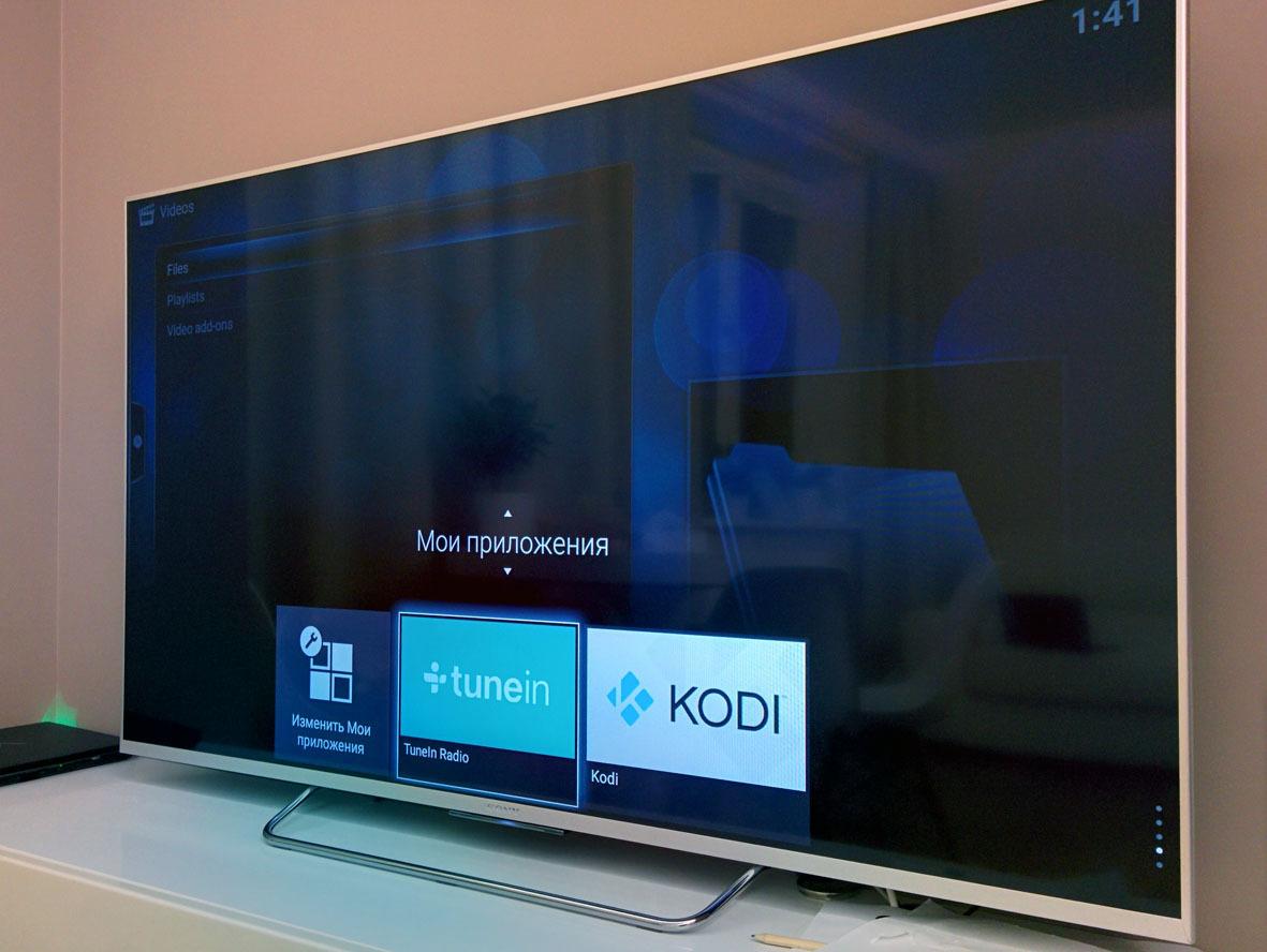 Обзор true Android TV на примере Sony 55w807c - 17