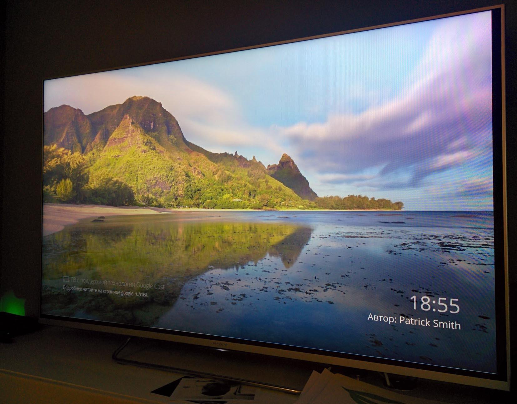 Обзор true Android TV на примере Sony 55w807c - 19