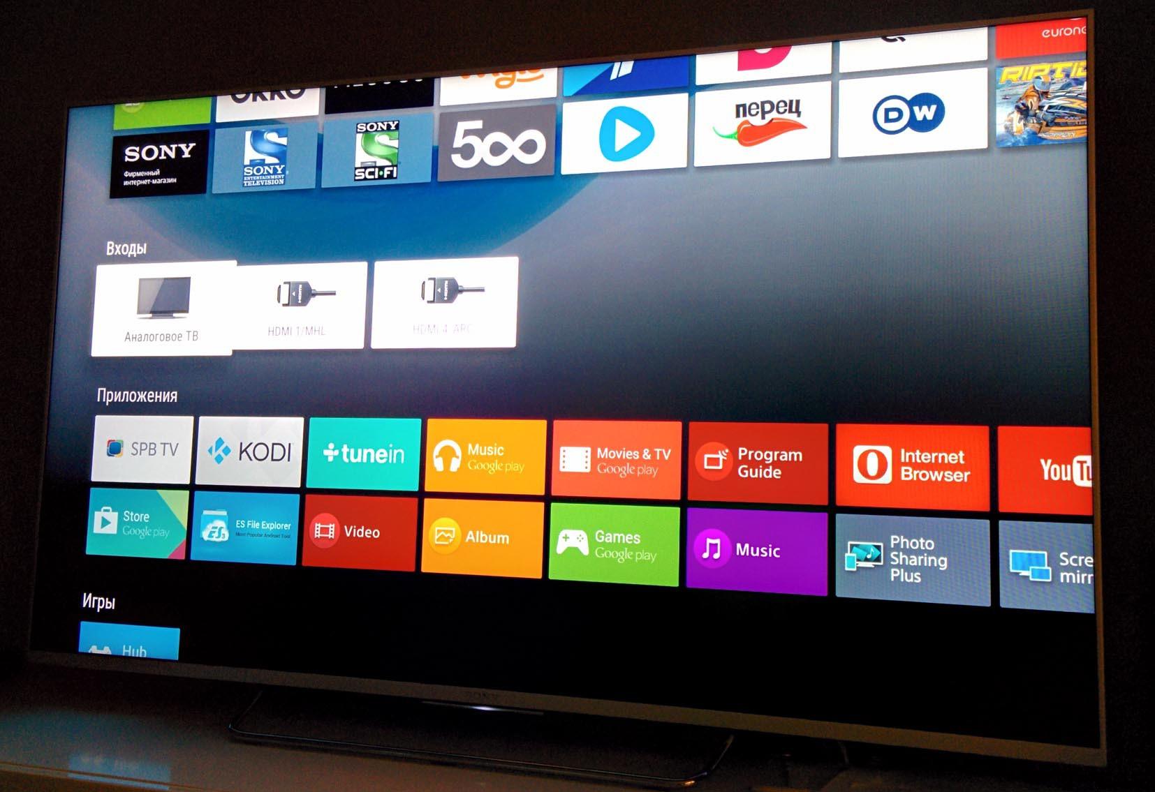 Обзор true Android TV на примере Sony 55w807c - 9