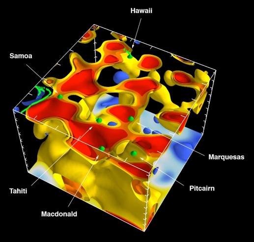 Сейсмологи из Беркли создали 3D-карту глубинных слоев Земли - 2