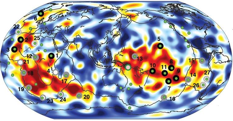Сейсмологи из Беркли создали 3D-карту глубинных слоев Земли - 3