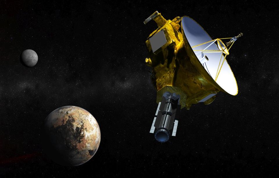 Станция New Horizons начала передачу собранных данных на Землю - 1