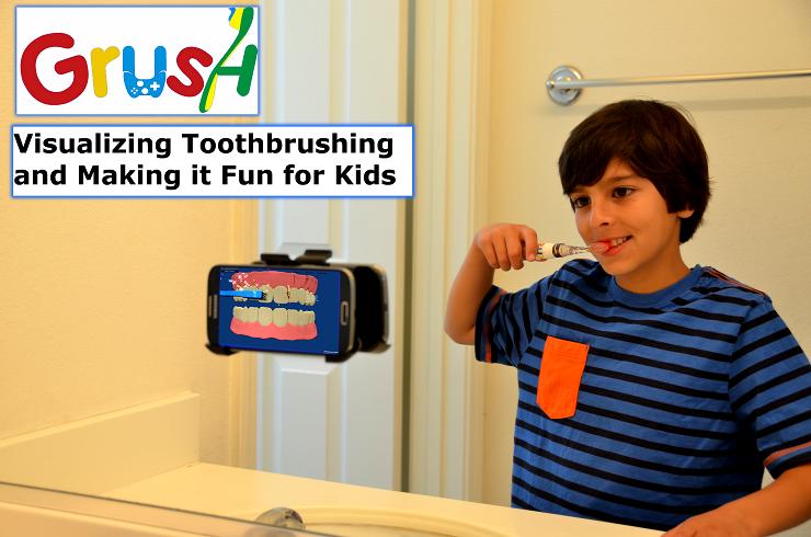 Зубная щетка для детей Grush: превращаем рутину в игру - 5