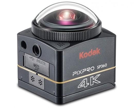 В камере Kodak PixPro SP360-4K используется датчик изображения типа CMOS с обратной засветкой