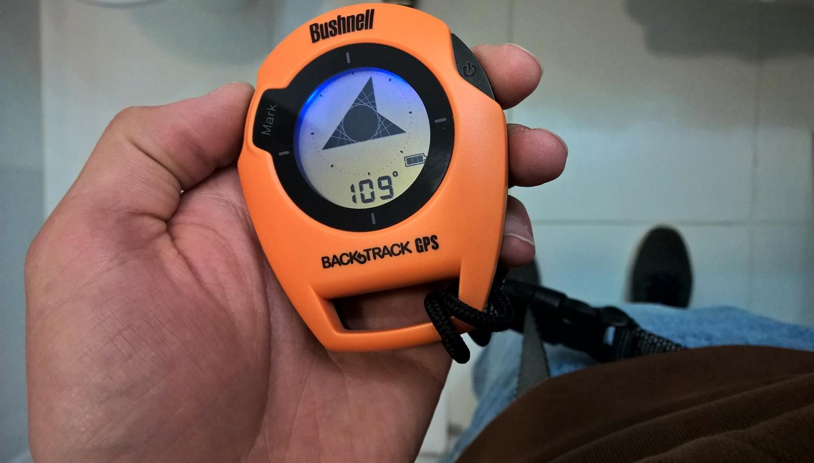 GPS-возвращатель Bushnell BackTrack и реальный мир - 7