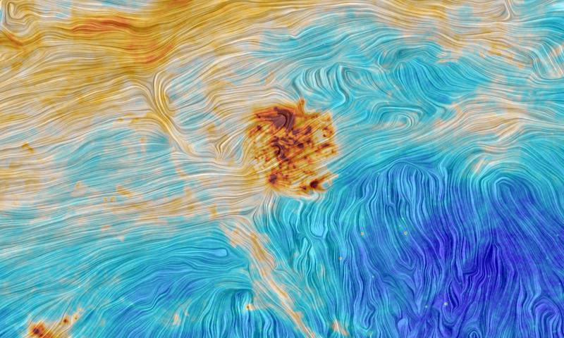 Магеллановы облака и межзвездная нить: новое изображение от космического телескопа Планк - 2