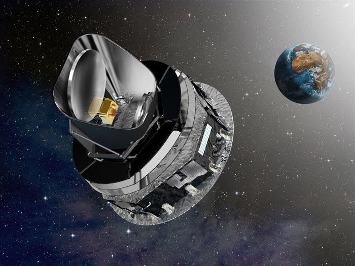 Магеллановы облака и межзвездная нить: новое изображение от космического телескопа Планк - 1