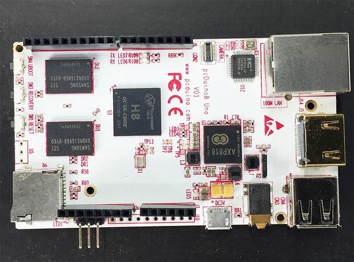 Одноплатный ПК LinkSprite pcDuino8 Uno поддерживает модули расширения Arduino Shields - 1