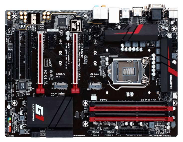Для перехода на память DDR4 плата Gigabyte GA-H170-Gaming 3 DDR3 не годится