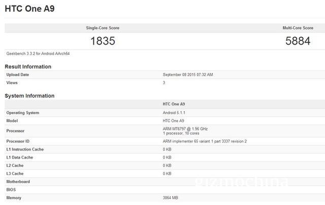 Платформа MediaTek Helio X20 набирает в тесте Geekbench 1835/5884 баллов