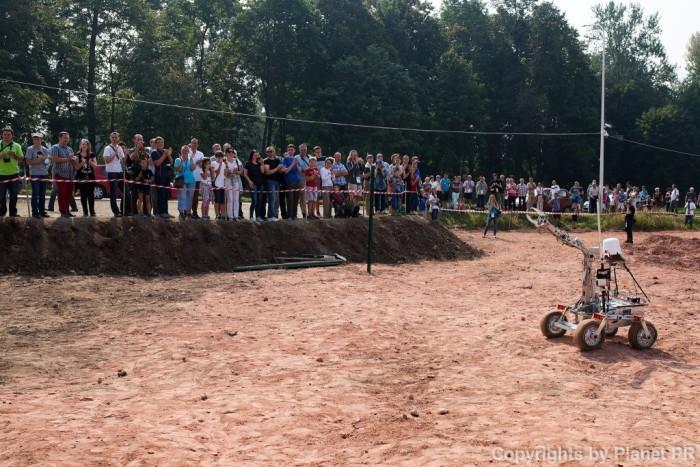 В Польше прошли соревнования любительских марсоходов - 2