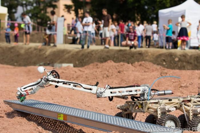 В Польше прошли соревнования любительских марсоходов - 4
