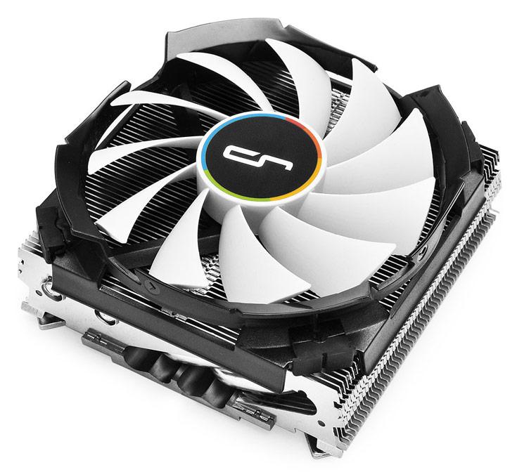 Охладитель Cryorig C7 подходит для процессоров с TDP до 100 Вт
