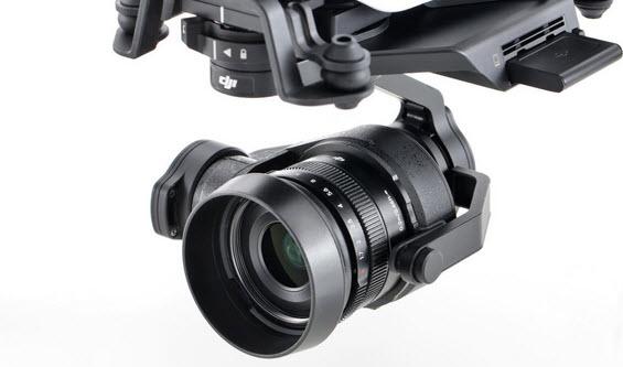 Zenmuse X5 и Zenmuse X5R — первые камеры стандарта Micro Four Thirds для дронов
