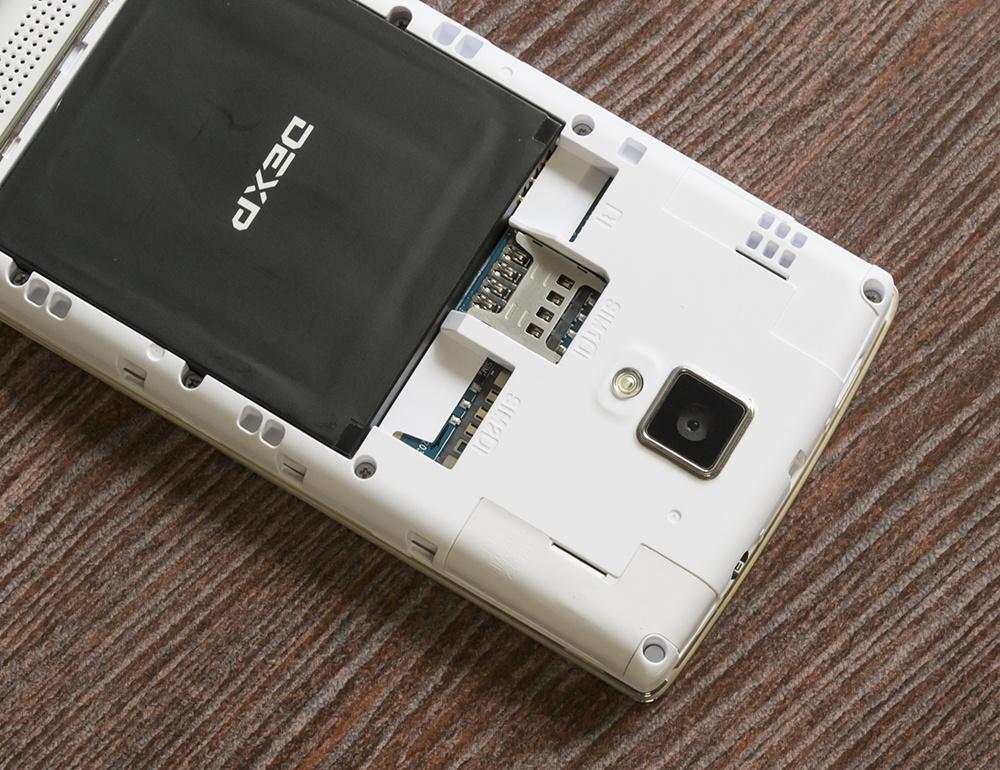 Обзор DEXP Ixion XL240 Triforce: самый маленький в мире 8-ядерный смартфон - 11