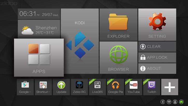 Медиацентр Zidoo X6 основан на новой восьмиядерной SoC Rockchip RK3368