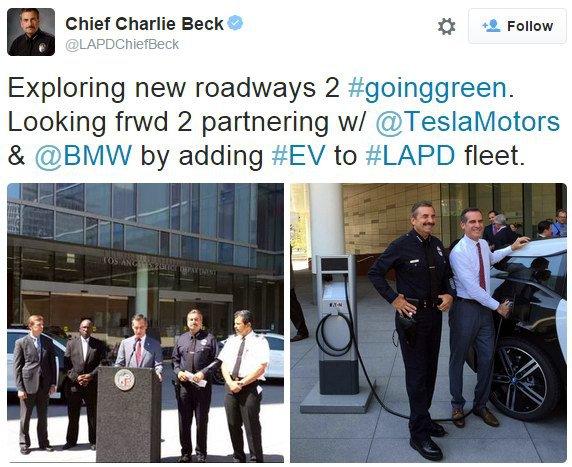 Лос-анджелеская полиция пересядет на электромобили Tesla и BMW - 4