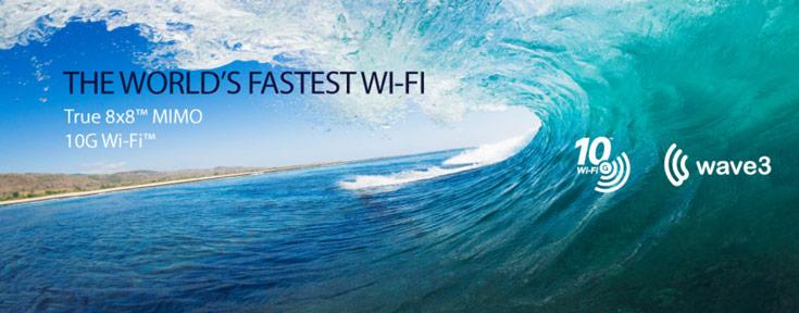 Новые чипсеты Quantenna предназначены для точек доступа, поддерживающих скорость 10 Гбит/с